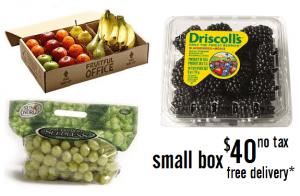 a small fruit box